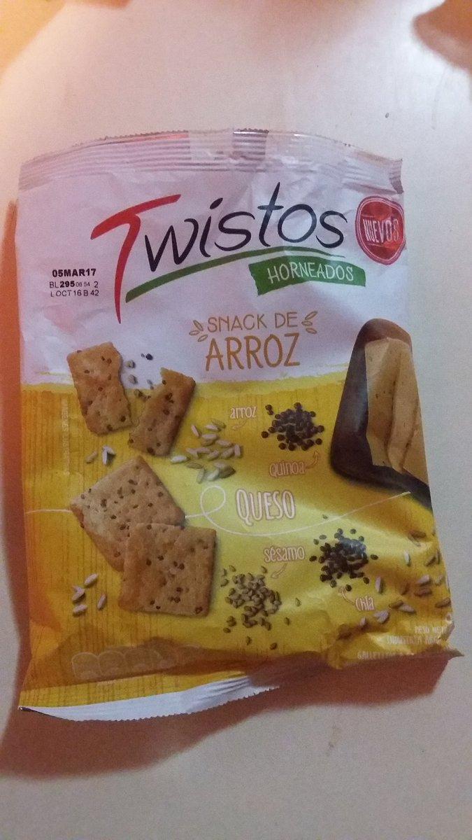 Encontré algo nuevo a lo que hacerme adicta. @TwistosArg son lo mejor que le paso al mundo https://t.co/RKytbXyNaA