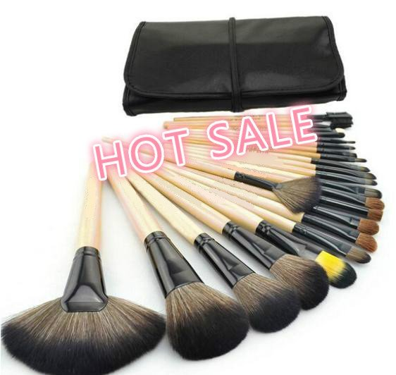 beauty healthHOT Sale Professional 24 pcs Makeup Brush Set tools Make-up Toiletr