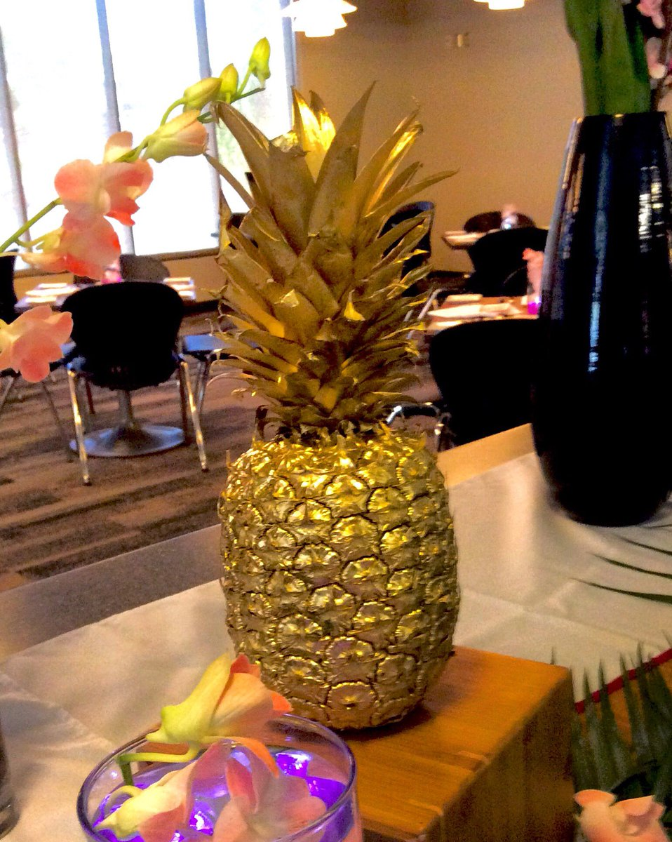 Cypress Bistro On Twitter Golden Pineapple Represents