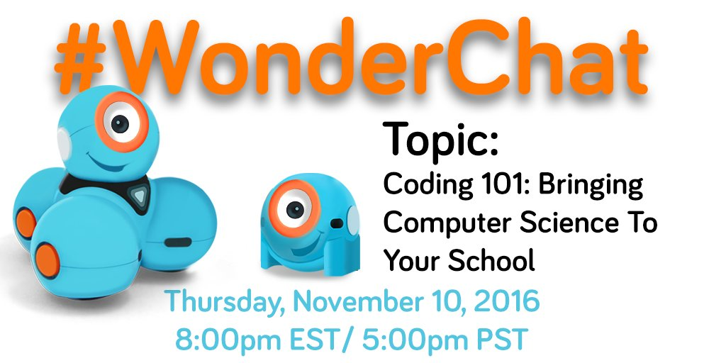 See everyone in 30 minutes!! We can't wait to start our monthly Twitter chats tonight with all of you! #WonderChat https://t.co/Cqapdkj2MR