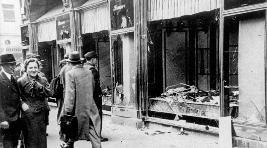 German neo-Nazis list Berlin's Jewish sites on anniversary of 1938 #Kristallnacht pogroms https://t.co/OfLAUiWrsX