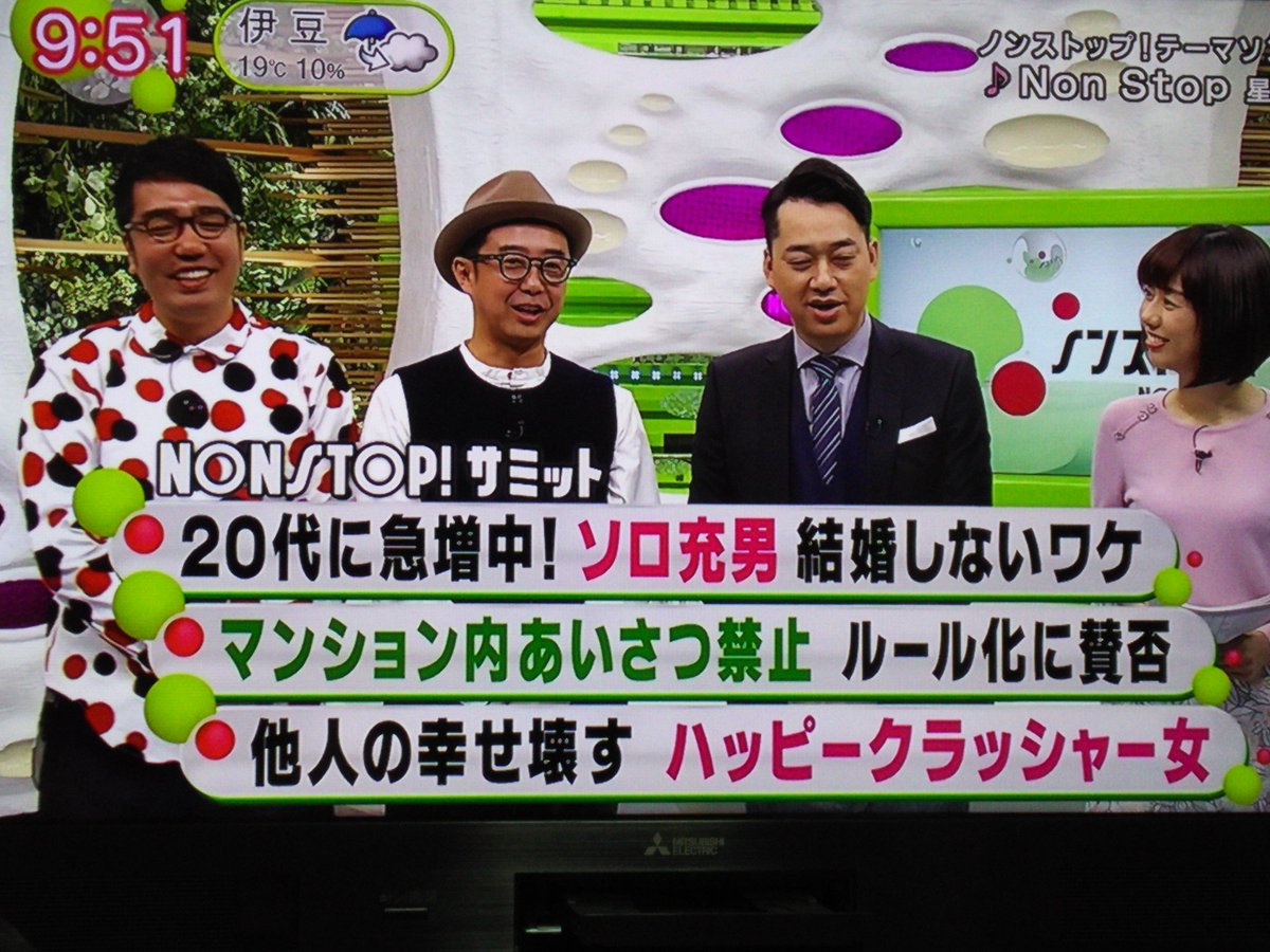 ノンストップ】20代男性に急増!...
