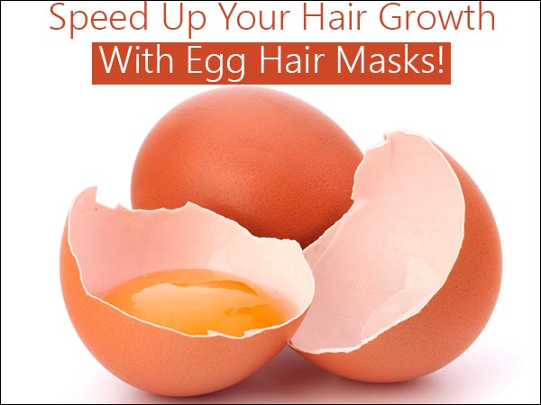 Speed Up Your HairGrowth With Egg Hair Masks! HairCare Beauty Fashion HairGoals
