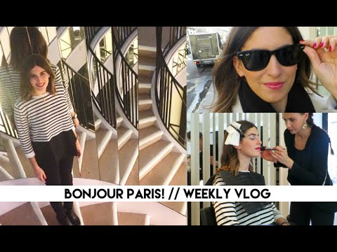 Bonjour Paris! | Lily Pebbles Weekly Vlog LilyPebbles LoveYa MakeUp Beauty -