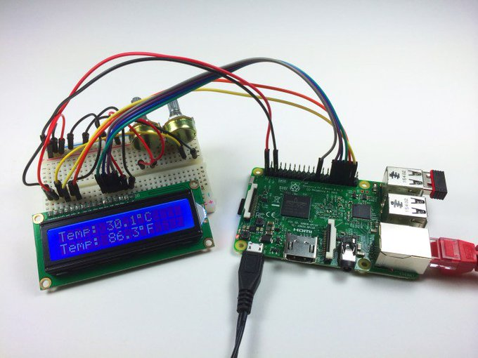 Raspberry Pi LCD Set Up and Programming in C With WiringPi raspberrypi diy