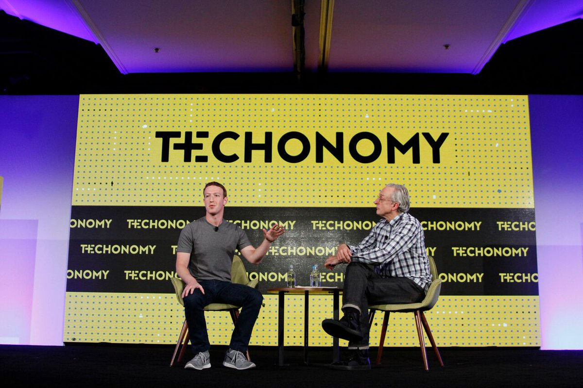 """In 5-10 years, we are going to have AI systems that are better than our main senses."" #Zuckerberg at #techonomy16 https://t.co/gqRWJlsVE9"