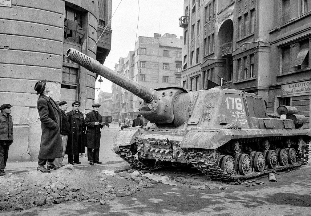 The Hungarian Uprising of 1956