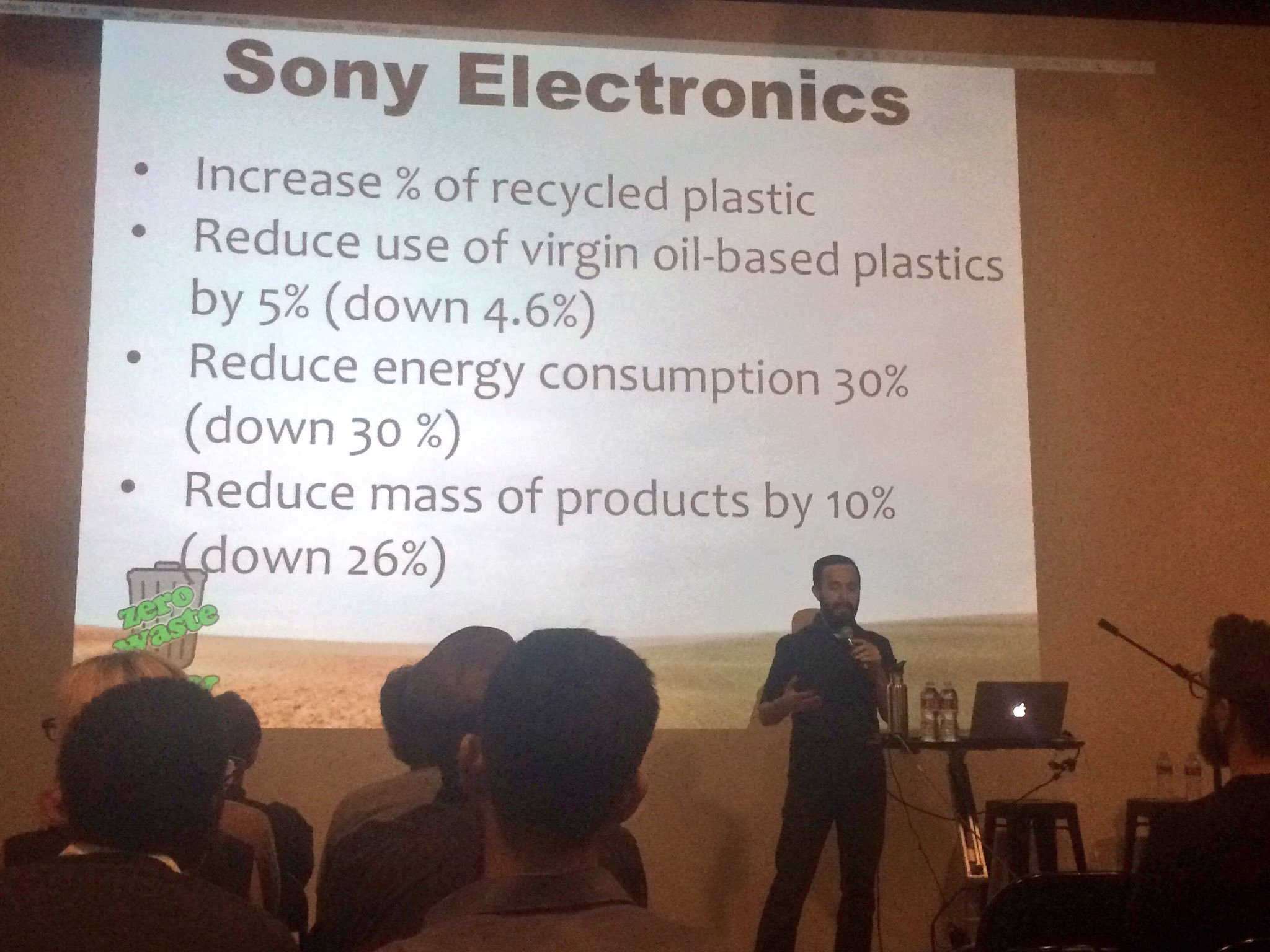 Sustainability is becoming more of a focus for companies. @Sony is one great example. https://t.co/Iodei7dsnM @zerowasteguy1 #wud16la https://t.co/gwTQyPwcrI