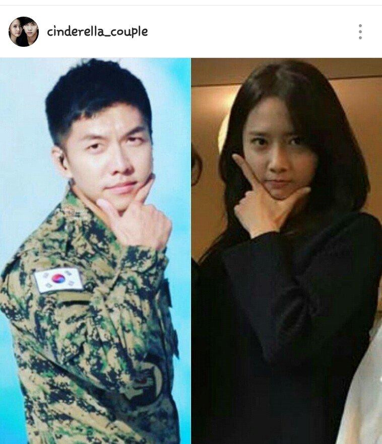 Yoona and lee seung gi