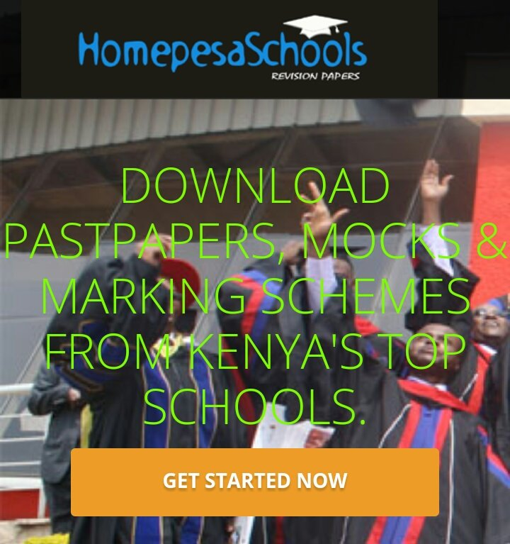 Download kcse Past Papers