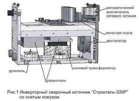 Схема сварочного инвертора на тиристоре