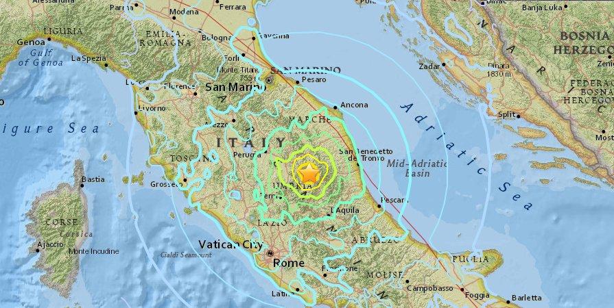 Terremoto Centro Italia-Norcia: il più forte dal 1980, atteso dagli esperti.