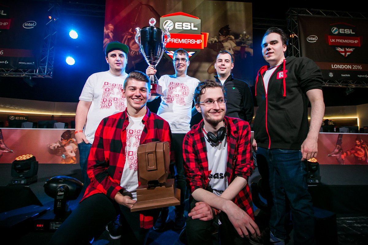 ESL UK Premiership, Reason Gaming, Overwatch