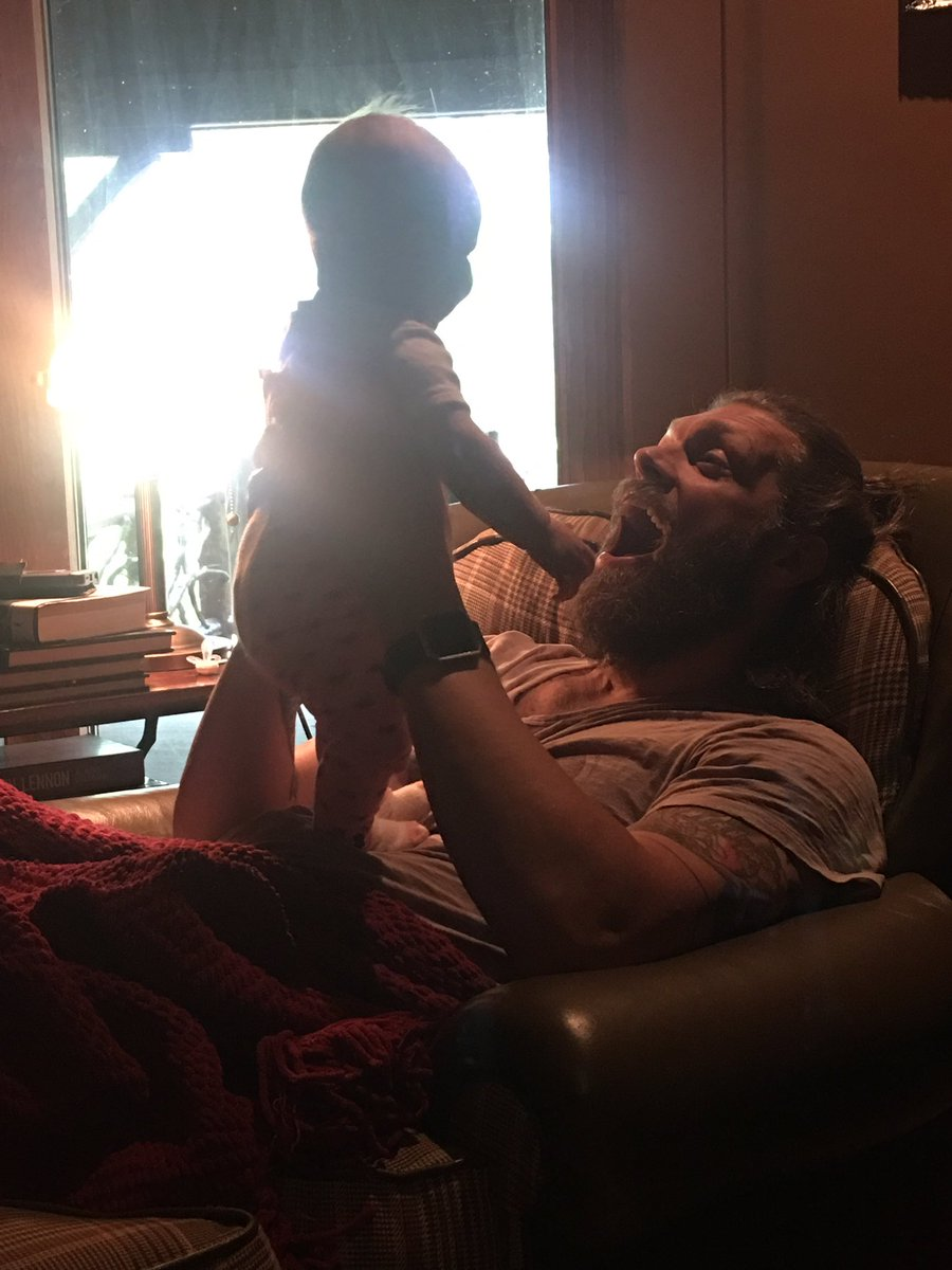 Happy Birthday to the man of my dreams! @EdgeRatedR #AnotherDaddysGirl #YourBeardGameIsStrong #ManBun https://t.co/gWOHNwQhdC