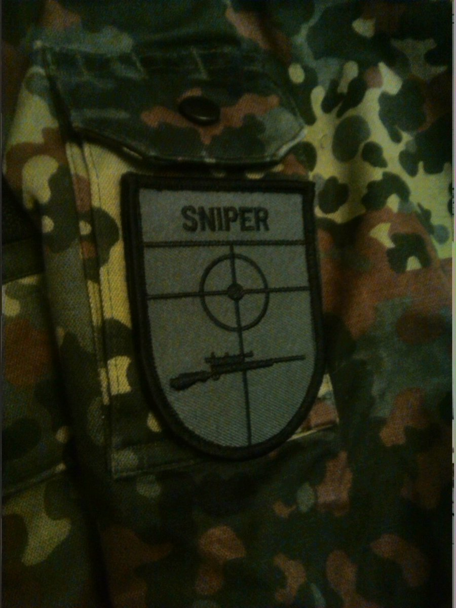My New patch !!!  #airsoftsniper #airsoftisnotacrime pic.twitter.com/Yc2TymeDrH