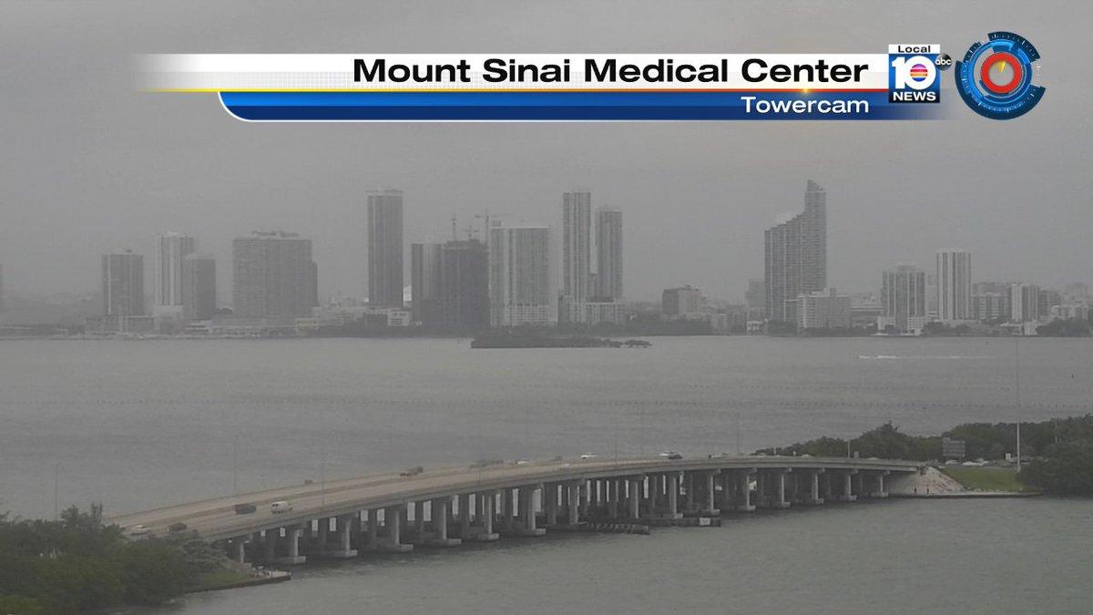 Mount Sinai Medical Center : Gloomy afternoon shot west