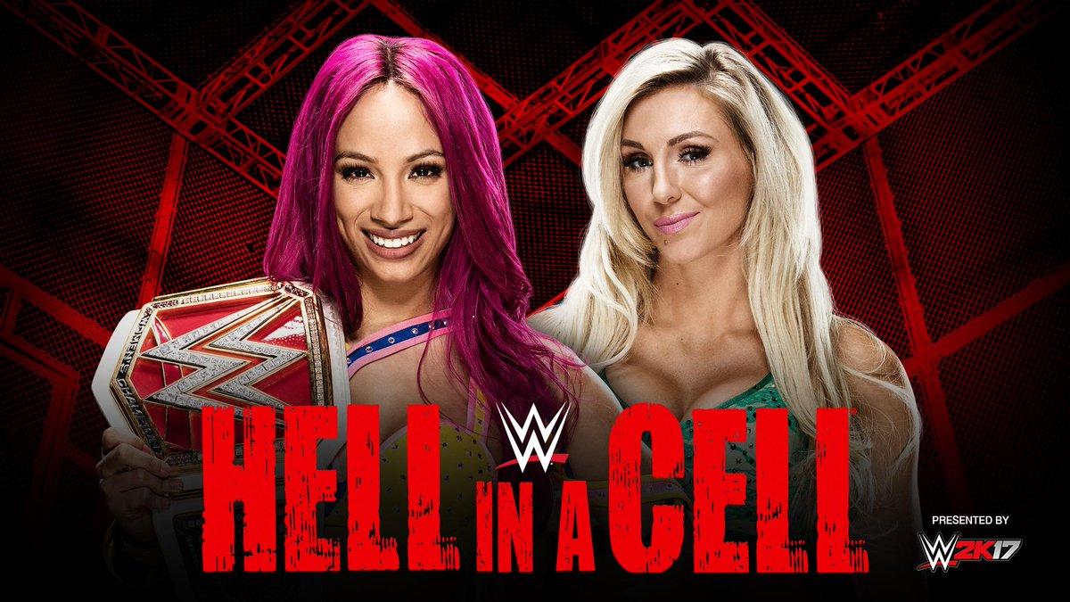 "WWE on Twitter: ""It's the first-ever Women's #HellInACell match TONIGHT as  @MsCharlotteWWE battles #TheBoss @SashaBanksWWE! https://t.co/TsTEbX9fq7  #HIAC… https://t.co/PDVK5x1onR"""