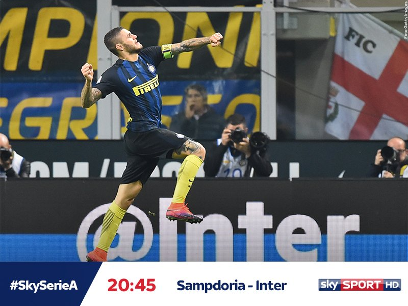 SAMPDORIA-INTER in Diretta Streaming Gratis su VPN Rojadirecta.