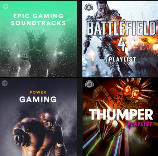 Spotify Gaming Playlists Moment