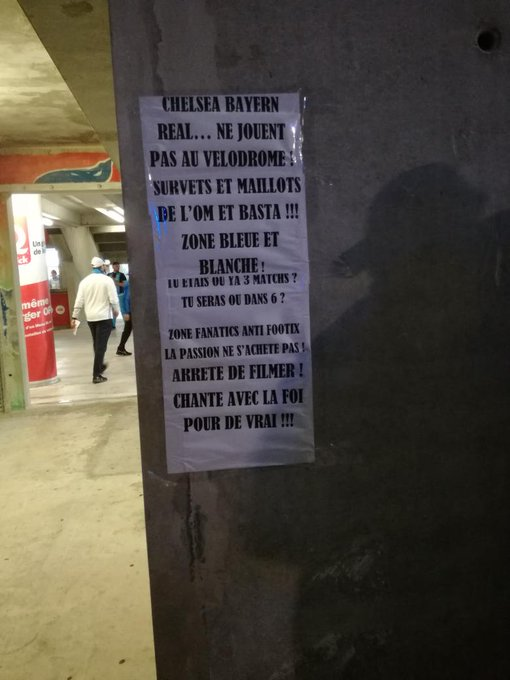 OM : une zone anti-Footix au Vélodrome