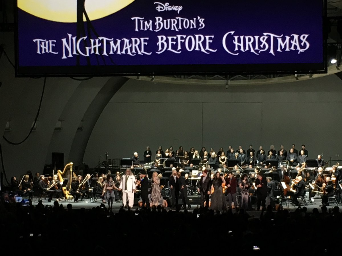 greg proops on twitter nightmare before christmas dannyelfmann hollywoodbowl making halloween great again - Making Of Nightmare Before Christmas