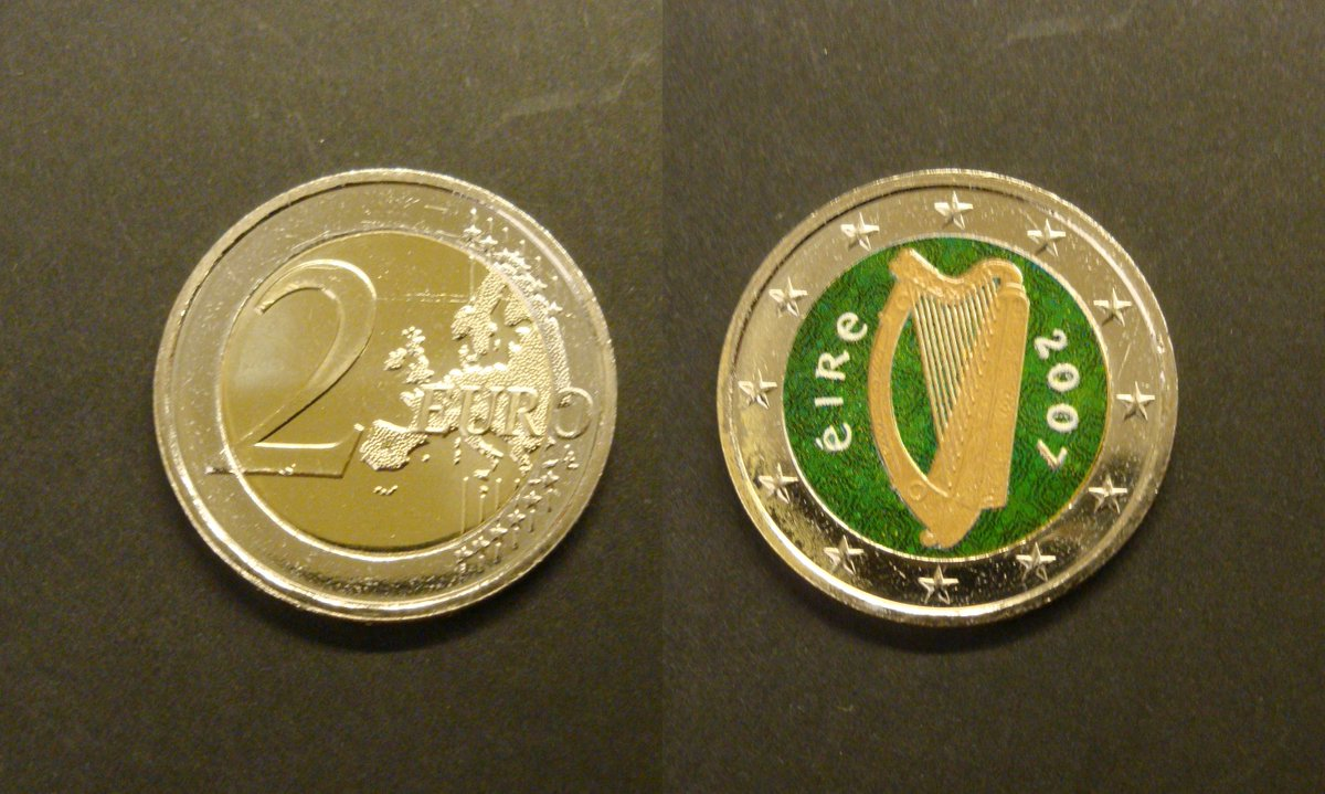 Muenzhandel Dresden On Twitter 2 Euro Münzen Für Alle Irland Fans