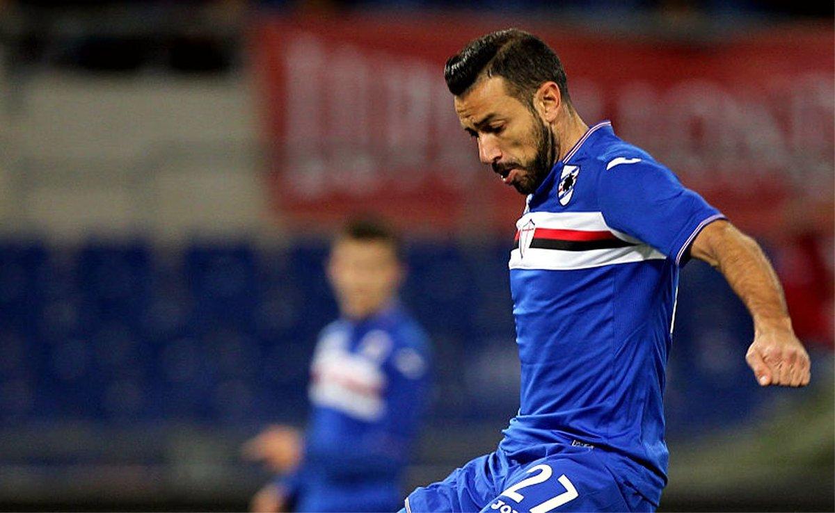 SAMPDORIA-INTER 1-0, Quagliarella Show firma il risultato.