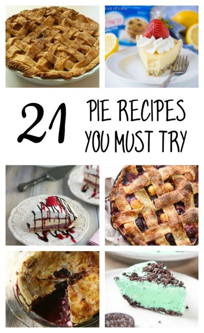 20+ Pie You Must Try via mommalewsblog ://