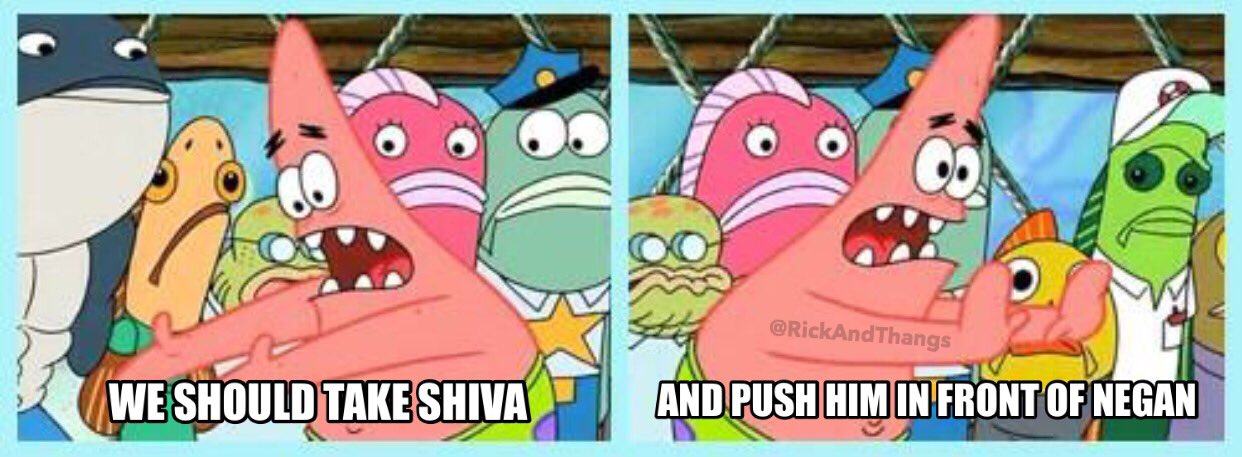 Push it somewhere else Patrick  The Origin Of Memes