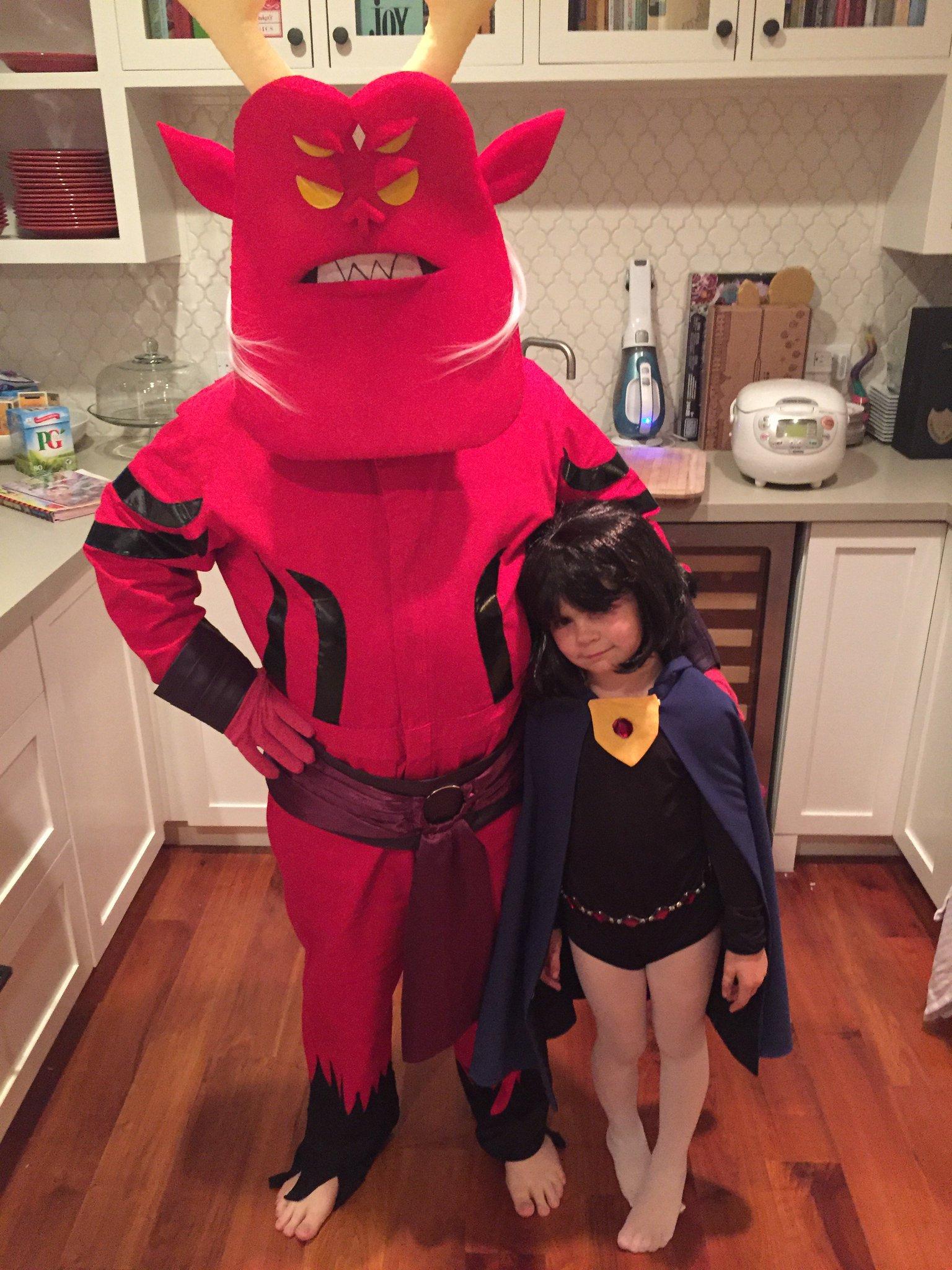 Halloween Raven Costume