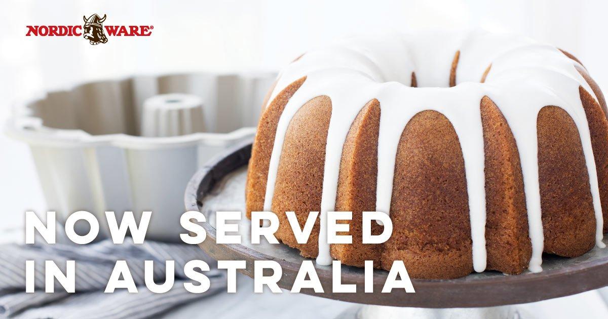 Lover of baking? You'll love the return of Nordic Ware back in Australia! https://t.co/Jc7zyKsxCB #Cooking #Baking #Cakes #Bundts #Australia
