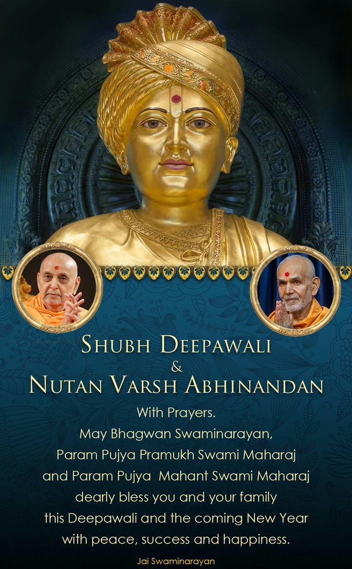 Happy New Year Mahant Swami 18