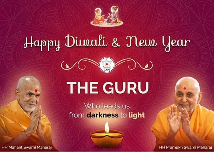 Happy New Year Mahant Swami 7