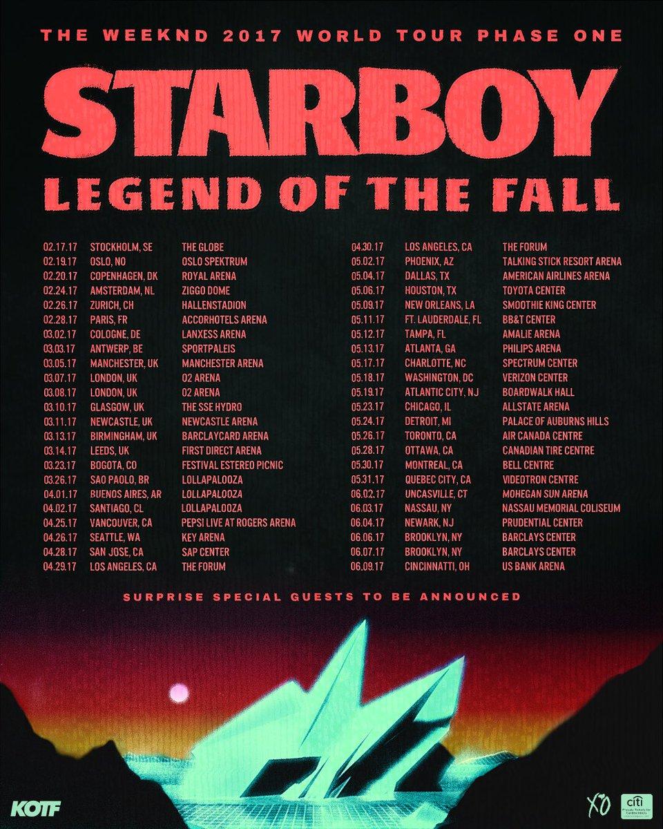 Belly Starboy Tour Setlist