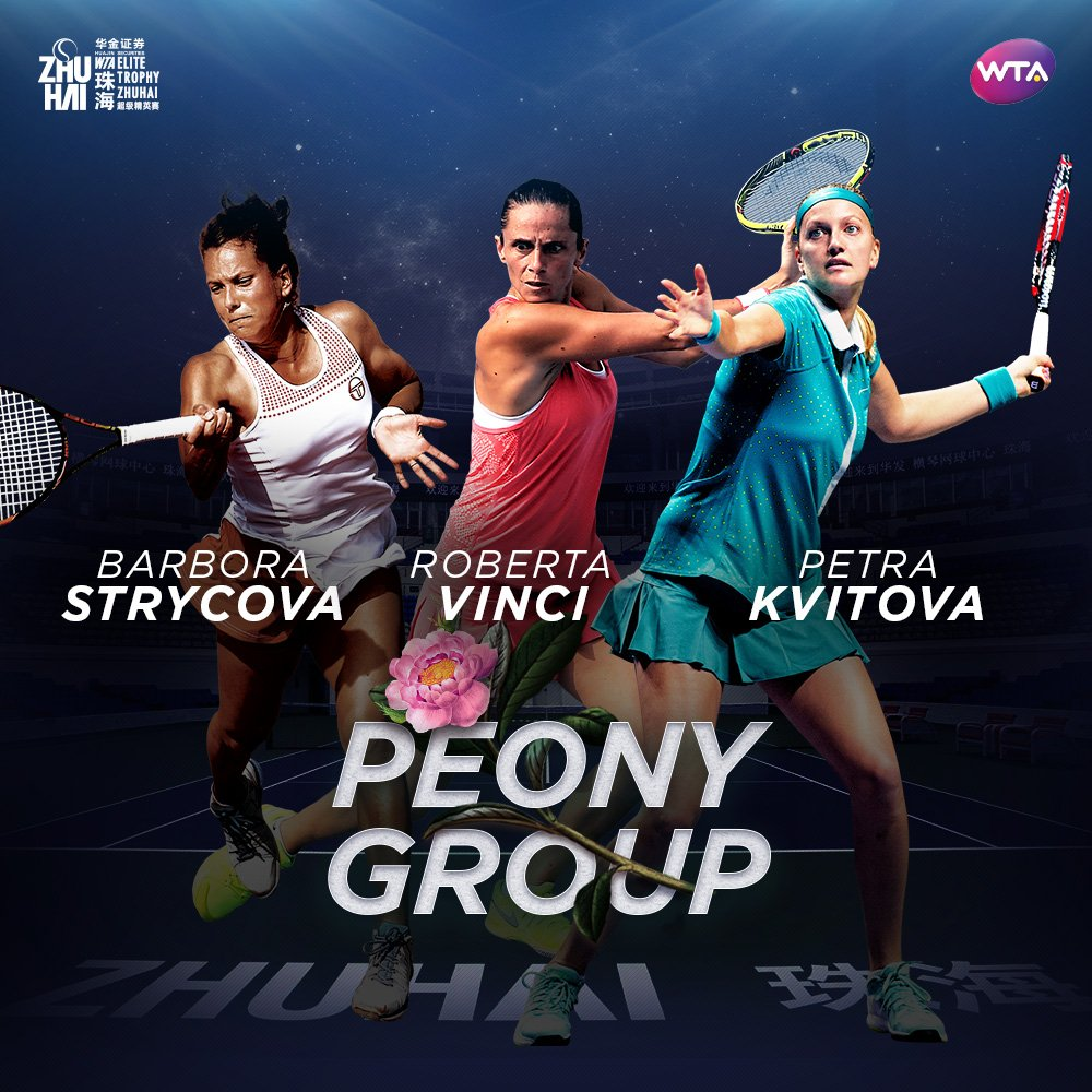 Pivoňková skupina; © WTA