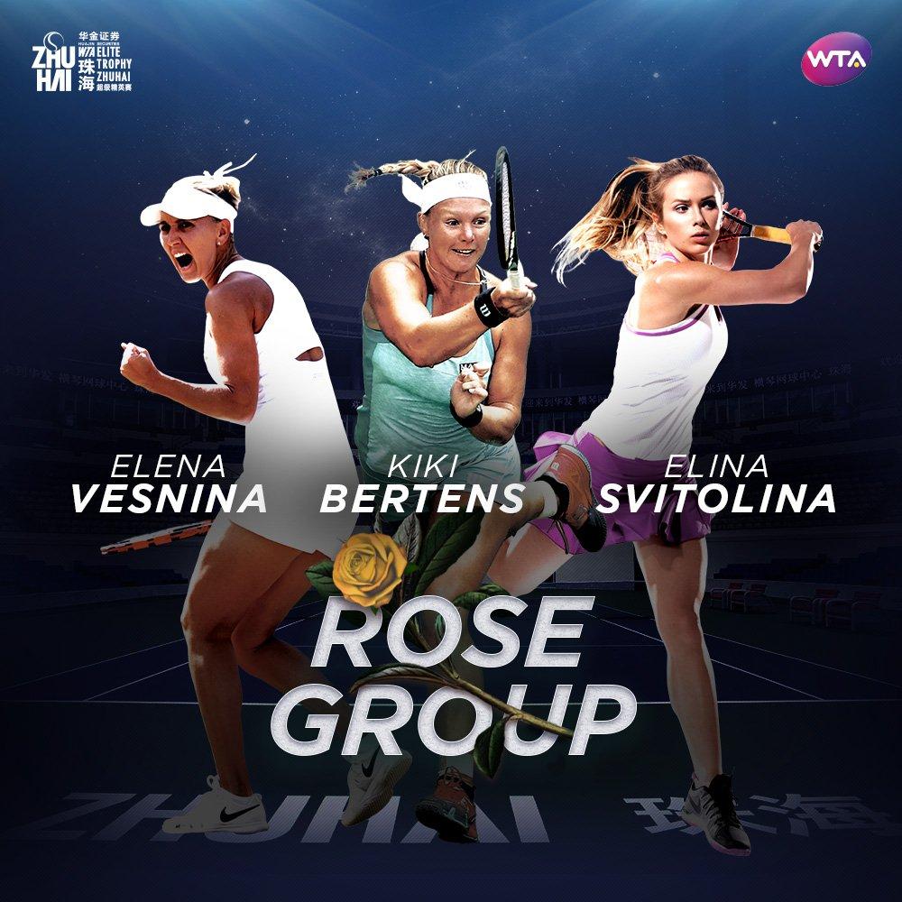 Růžová skupina; © WTA
