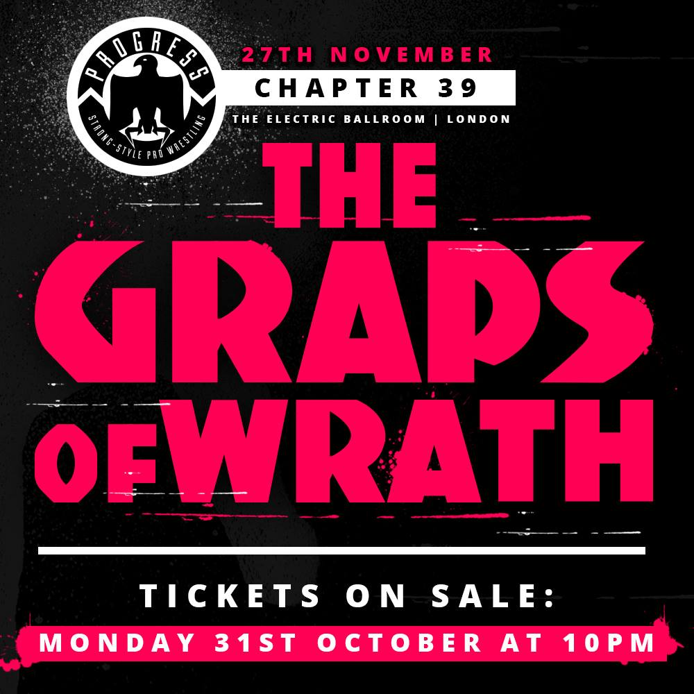RESULTADOS - PROGRESS Chapter 39: The Graps Of Wrath (27/11/2016)