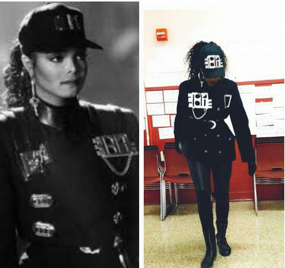 JanetJackson Fans voting at //t.co/puuIBNkFiC and rocking their Janet Jackson Halloween costumes 2016 part 2 #Janfam #Unbreakableu2026 ...  sc 1 st  Twitter & Janet Journey on Twitter: