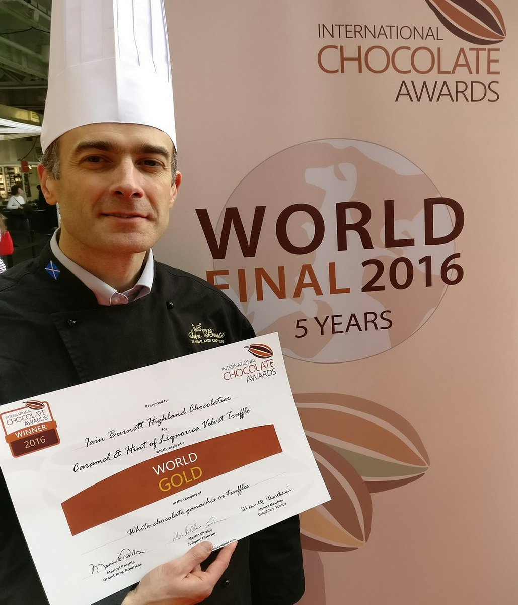 "Huge congratulations to @HighlandChoc for two successive ""Best in the World"" awards! https://t.co/wjYuKTEu5l"