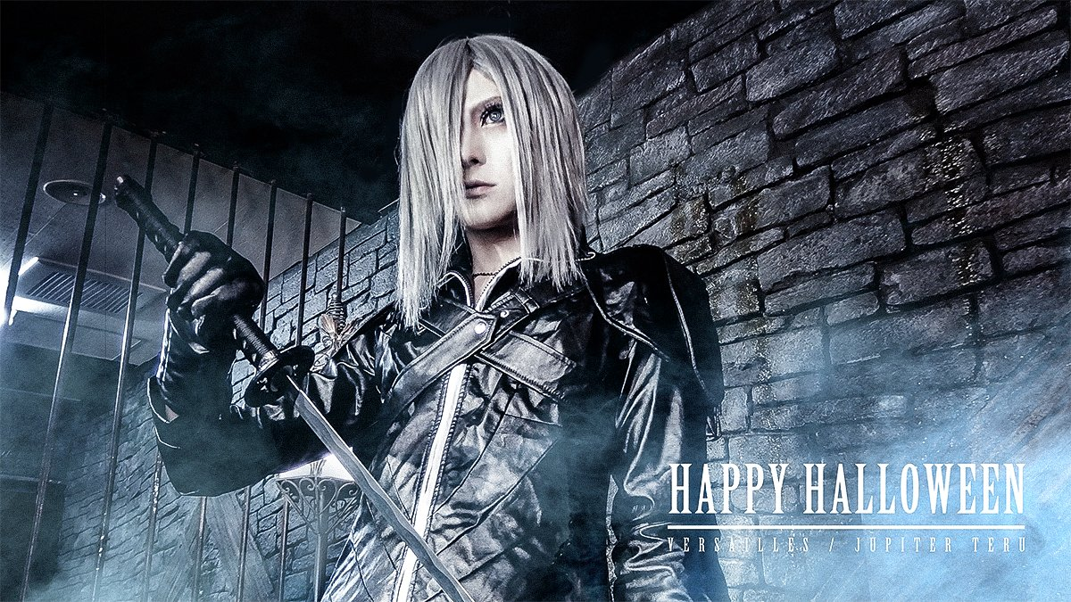 Happy Halloween ! ファイナルファンタジーのカダージュやってみた(。・_・。)/ #ハロウィン #コスプレ #仮装 #ファイナルファンタジー #FF #Versailles #Jupiter https://t.co/DD4SMIAH49