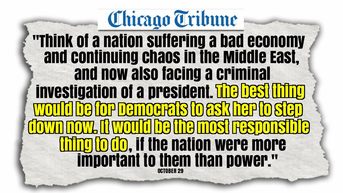 Chicago Tribune columnist calls on Democrats to ask Hillary Clinton to step down