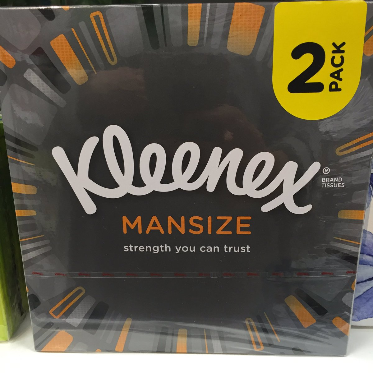flipboard kleenex is rebranding its mansize tissues as extra