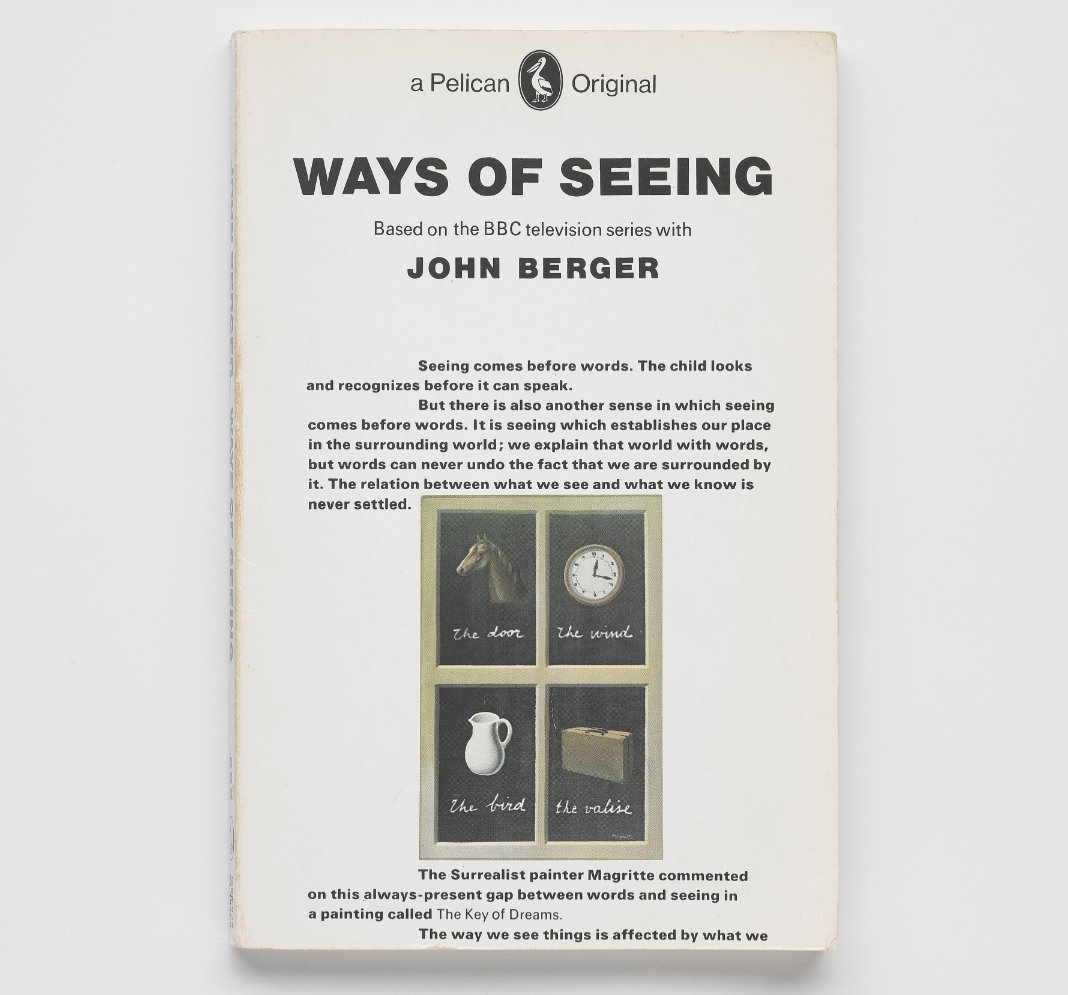 a review of john bergers essay ways of seeing