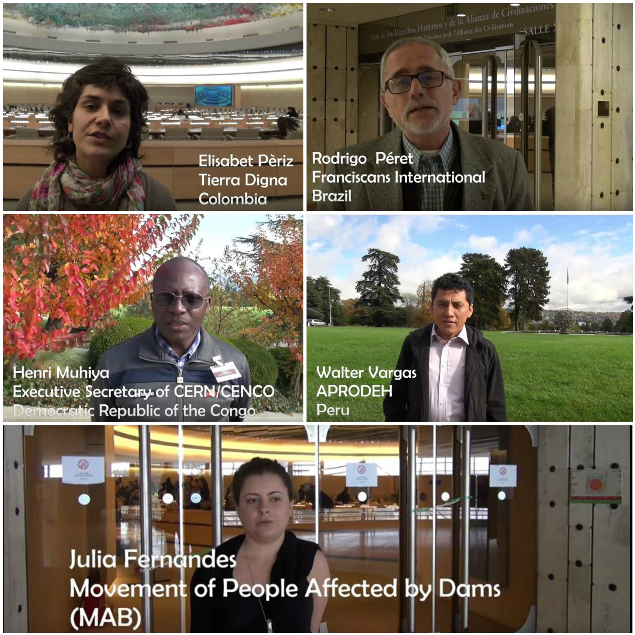 Human rights voices from Geneva- interviews filmed by CIDSE throughout last week: https://t.co/tHdElsNAtk #stopcorporateabuse #BindingTreaty https://t.co/2aqJ1NVsSP