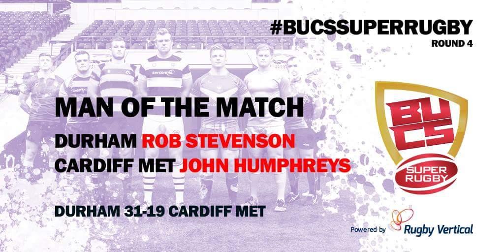 Bucs Super Rugby On Twitter Man Of The Match Round 4 Durham 31