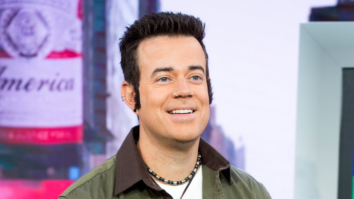 Carson Daly Paid Homage To His Younger Trl Self For Halloween