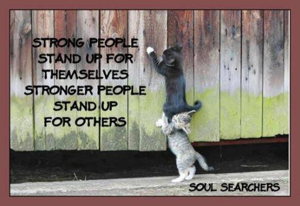 Inspirational Quotes On Twitter Stronger People Stand Up For