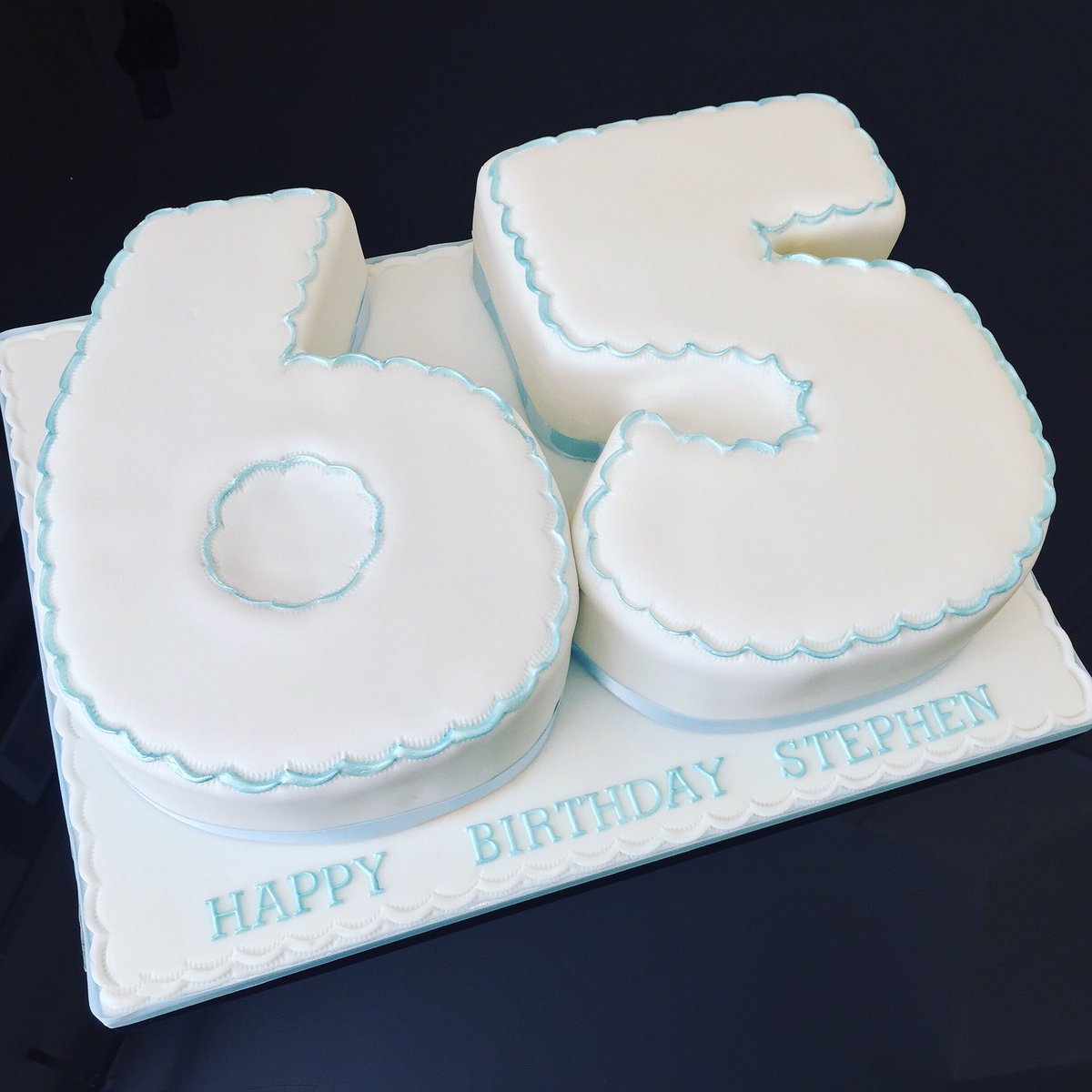 Magnificent Marias Cake Boutique A Twitteren 65Th Birthday Cake Number 6 Funny Birthday Cards Online Inifofree Goldxyz