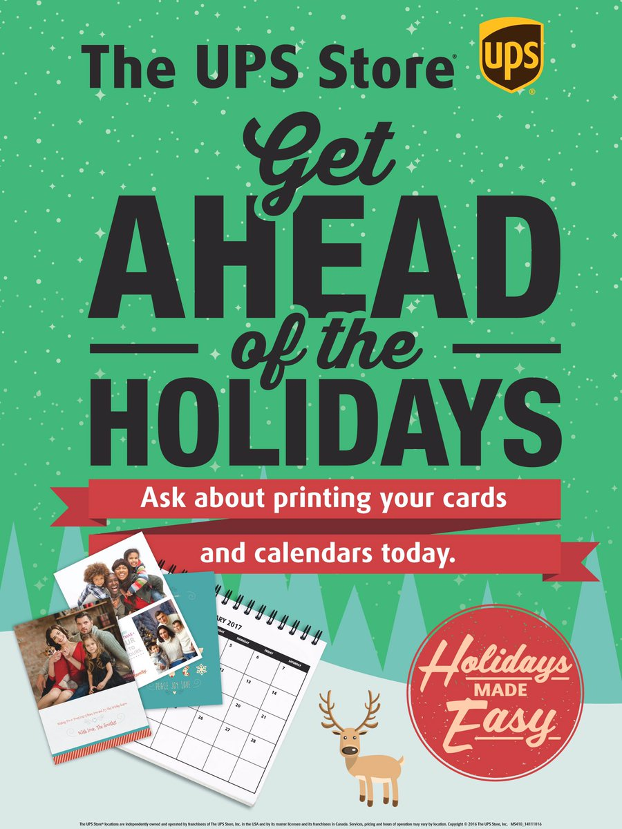 The Ups Store 6265 On Twitter Greeting Cards Calendars Letters