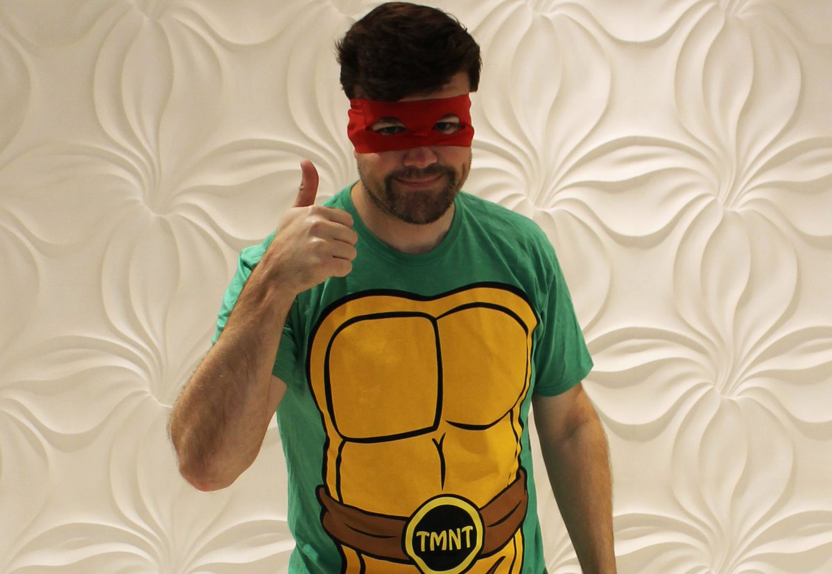 Let it not be said that I dont take today super seriously. Happy Halloween all! #TMNT